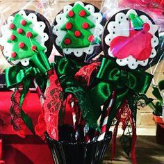 Pirulitos de chocolate!!! Amo o Natal. @luxosemimos_lembrancas