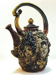 Tea Pot ~Ceramic Art