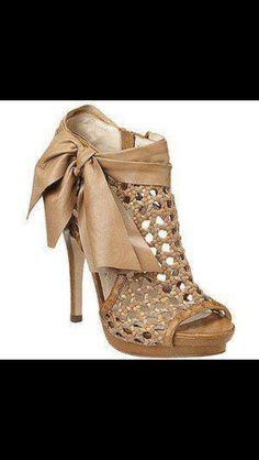 d9b1aaf01e05 mesh beige shoes with beige ribbon