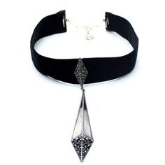 Rayos Grande Velvet Choker - Child of Wild  - 1