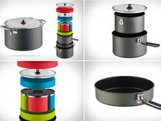 If you prefer a decently cooked meal instead of instant meals while camping, you should consider getting the MSR Flex 4 System Complete Camping Cook Set.