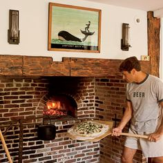Personal Pizza Oven   Historic Home Preservation   Coastal Living