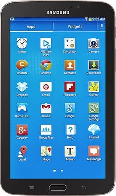 Samsung - Galaxy Tab 3 7.0 Tablet with 8GB Memory - Gold Brown from Best Buy on shop.CatalogSpree.com, your personal digital mall.