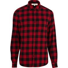 310036e9e3a8d Red check flannel shirt - pair it with Timberland boots!