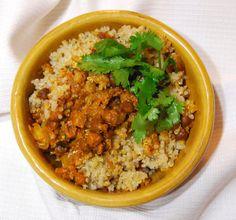 Holy Cow!: Quinoa Biryani with Kala Chana