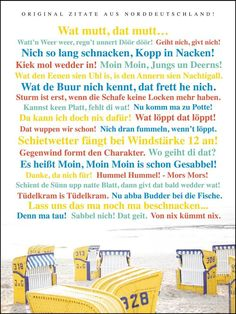 Poster Zitate aus Norddeutschland - Schöne Dinge Shop Leonardo, Blog, Poster Quotes, Too Busy, Beautiful Things, Homes, Nice Asses, Blogging