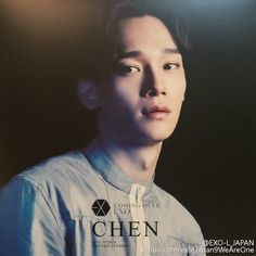 Chen - Álbum Japonês 'Coming Over' EXO (2016)