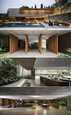 Modern Architecture Building Apartments – My Ideas Modern Residential Architecture, House Architecture Styles, Minimalist Architecture, Interior Architecture, Federal Architecture, Garden Architecture, Architecture Portfolio, Modern Villa Design, Casas Containers