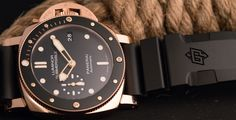 There's something gloriously, incredibly and fabulously over the top about a solid gold dive watch. It's the ultimate juxtaposition of functional object and precious ornament, all bundled up in a neat, wrist-optimised package. It's this contrast that lies at the heart of the PAM 684's...