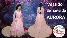 Disfraz de novia de Aurora inspirado en Maléfica 2 – disfracesquenquen.com Princesas Disney, Diy, Movie Posters, Youtube, Aurora Costume, Bridal Gowns, Boyfriends, Bricolage, Film Poster