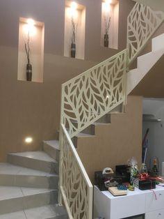EVVAS korlát, vas lemez vágva Stairs, Modern, Home Decor, Wall Panelling, Stairway, Trendy Tree, Decoration Home, Room Decor, Staircases