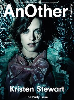 "anothermag: "" AnOther Magazine S/S16 has arrived! A special, five-cover edition to mark our 15-year anniversary. Our first cover star is Kristen Stewart, shot by Paolo Roversi and styled by Katie..."