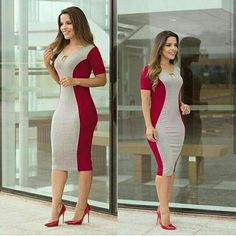 Corporate attire for Women Tight Dresses, Casual Dresses, Girls Dresses, Corporate Attire Women, Simple Gowns, Girl Fashion, Fashion Outfits, African Fashion Dresses, Classy Outfits