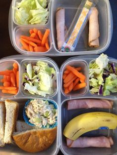 3 yummy lunches via The Family Lunchbox