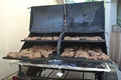 A whole lot of Tri-tips loaded in the FAT 50.