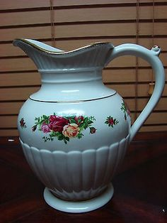 RP: Royal Albert Old Country Roses Pitcher Fluted | eBay.com