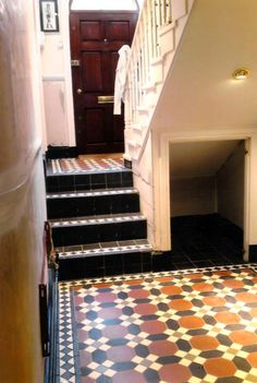 Classic Victorian tiles in London