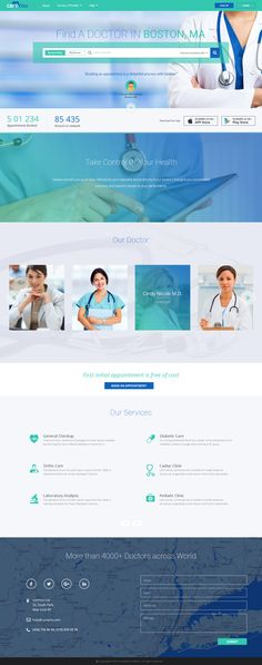 Find a Doctor - Healthcare UI