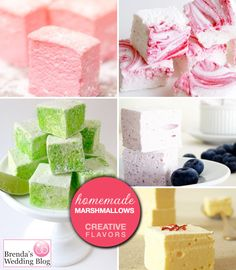 Dress up your Hot Chocolate with Creative MarshmallowFlavors - Brenda's Wedding Blog - unique wedding blogs for stylish weddings and inspiring visuals