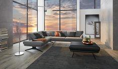 Mit Charme, Stil und Vielseitigkeit verbindet die ADA Sitzgruppe Dortmund einzigartiges Design mit individuellen Bedürfnissen. #sofa #sitzgruppe #designersofa #wohnzimmer #livingroom #einrichten #wohnideen #interieurideas Sectional, Decor, Couch, Furniture, Sectional Couch, Home Decor, Home 21