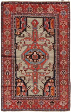 The educational rug photo-gallery with Shirvan rugs is one of the first published sections of Jozan Magazine. Images in the Shirvan rug gallery are published with permission from auction houses, dealers, collectors or museums. Asian Rugs, Rug World, Cheap Carpet Runners, Natural Area Rugs, Cool Rugs, Carpet Colors, Tribal Rug, Rugs On Carpet, Hall Carpet