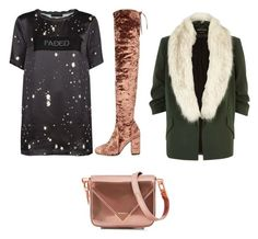 """""""Untitled #217"""" by courtneycarey on Polyvore featuring River Island and Alexander Wang"""