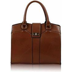 Womens Designer Tote Bags Ladies Celebrity Style Faux Lea…