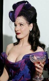 The Beautiful Dita Von Teese!