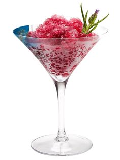 Purple Pomegranate Granitas recipe from Food Network Kitchen via Food Network