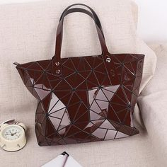 3242def84d49 Flower Poetry Diamond Lattice Women Bao Bao Bags Geometry Laser baobao  Handbag Women Bag BAOBAO Totes Shoulder Bag Ladies Bolsa