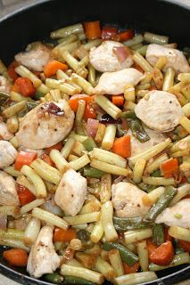 Kung Pao Chicken, Pasta Salad, Poultry, Food And Drink, Ethnic Recipes, Kitchen, Diet, Kitchens, Polish Cuisine
