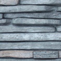 Wandtegel steenstrip venezia grafiet 55 x 15cm per 0,5m2