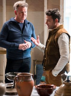 Nate helps chef Gordon Ramsay Make Over a Town – In less than a week! Nate And Jeremiah, Chef Gordon Ramsay, Ellicott City, Nate Berkus, Fangirl, House Ideas, Interiors, How To Make, Design