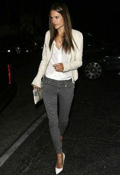 Alessandra Ambrosio Los Angeles September 26 2013 #celebrityfashion