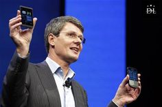 Apple's iPhone is outdated, according to the chief executive of BlackBerry-maker Research In Motion.  For more info click here http://ibnlive.in.com/news/apple-iphone-is-outdated-says-blackberry-ceo-thorsten-heins/380441-11.html