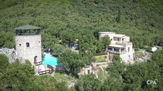 Luxurious privacy with panoramic sea views, in Spartylas, North East Corfu