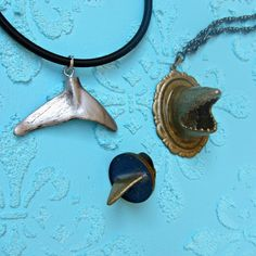 Jewelry TUTORIAL: Make 3 Jewels Using A Toy Shark