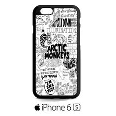 arctic monkeys collage lyric cute iPhone 6S Case