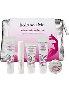 Balance Me Radiant Skin Collection £18