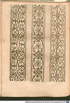 Viking Pattern, Medieval Pattern, Medieval Manuscript, Medieval Art, Border Pattern, Border Design, Hand Embroidery Designs, Embroidery Patterns, Wood Carving For Beginners