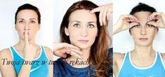 3 proste ćwiczenia na pożegnanie opadających powiek | fitnesstwarzy