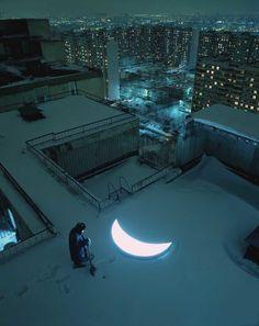 """Private Moon  Es gibt sie noch, die modernen Märchen! Die Mondserie """"Private Moon"""" enstand durch die Zusammenarbeit des russisches Künstlers Leonid Tishkov mit dem Fotografen Boris Bendikov."""