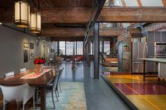Wormwhole Flat By Dash Marshall Interior Pinterest Loft Interior Lighting And Flats