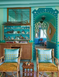 Doug & Gene Meyer's Miami house. Photograph by Jason Schmidt. Now this is thinking outside the box...love it!