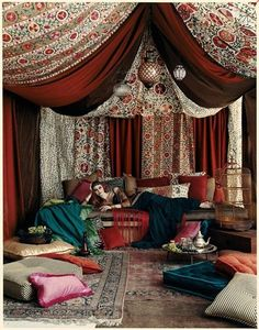 I found 'Moroccan Bohemian Lounge' on Wish, check it out!