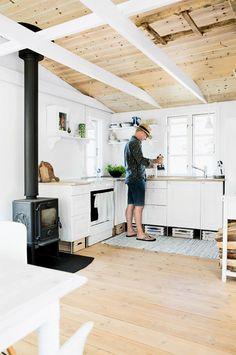 decoración nórdica, casas de campo, casa de verano, estilo escandinavo, decoración nórdica