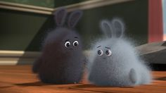 Dust Buddies - Cute & Funny Action CGI 3D Animated Short Film by Beth To...