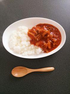 簡単!ルウ不要!トマト缶でハヤシライス♪ by あーしゃんママ☆ [クックパッド] 簡単おいしいみんなのレシピが231万品