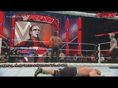 WWE RAW January 19 2015 - WWE RAW 1/19/15 STING Returns | Royal Rumble G...
