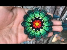 Seed Bead Tutorials, Jewelry Making Tutorials, Beading Tutorials, Beading Projects, Seed Bead Jewelry, Bead Jewellery, Beaded Earrings Patterns, Beading Patterns, Bead Crochet